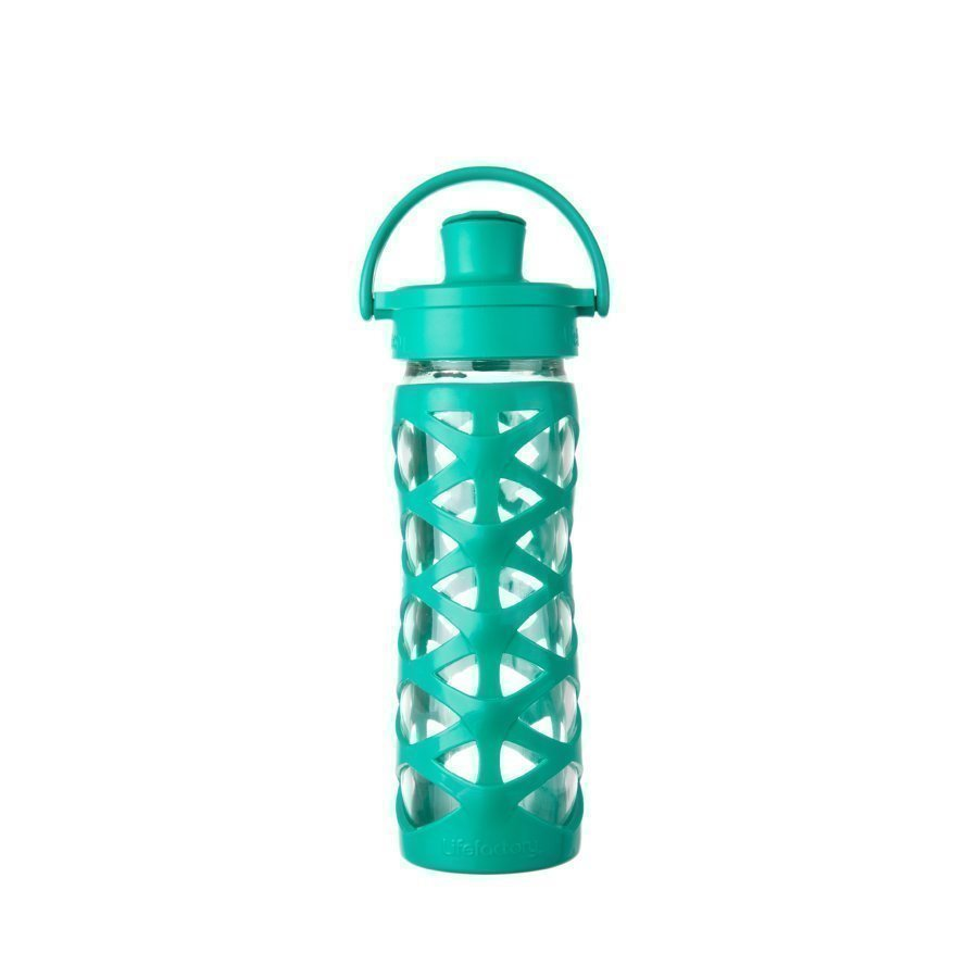 Lifefactory Juomapullo Active Flip Top Cap 475 Ml Aquatic Green