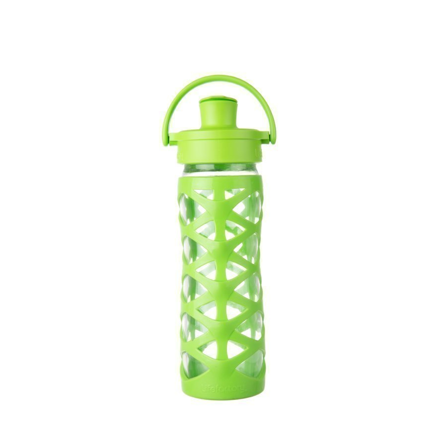Lifefactory Juomapullo Active Flip Top Cap 475 Ml Lime