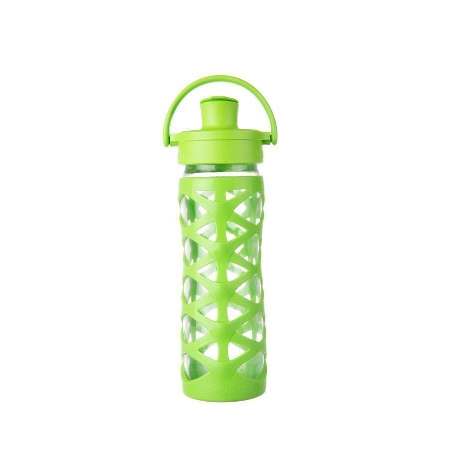 Lifefactory Juomapullo Active Flip Top Cap 475 Ml Lime