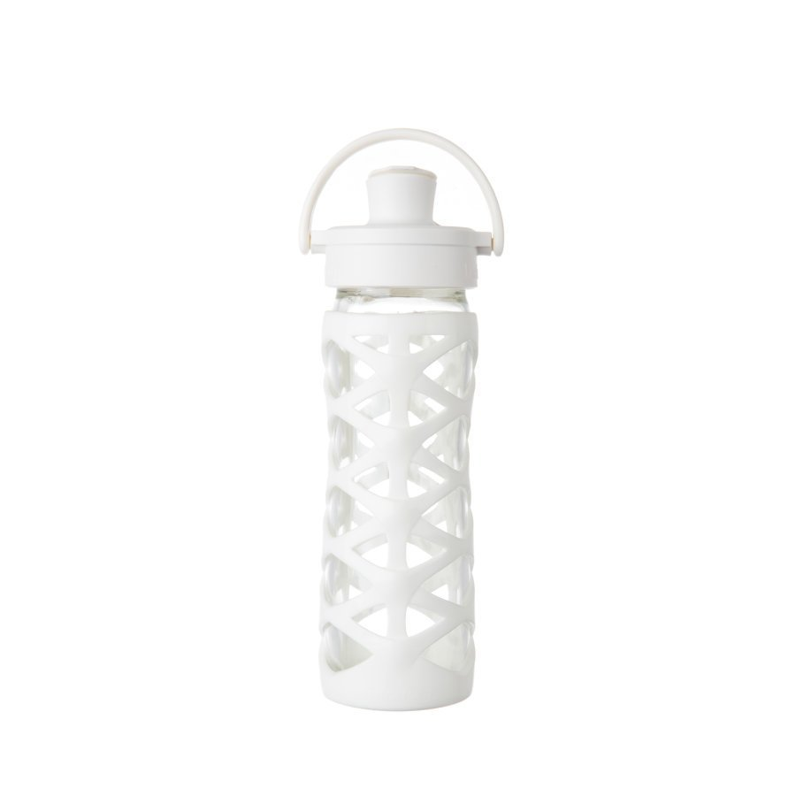 Lifefactory Juomapullo Active Flip Top Cap 475 Ml Optic White