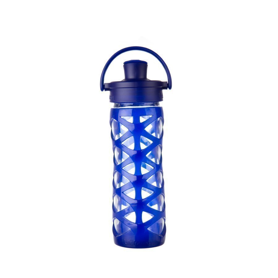 Lifefactory Juomapullo Active Flip Top Cap 475 Ml Sapphire