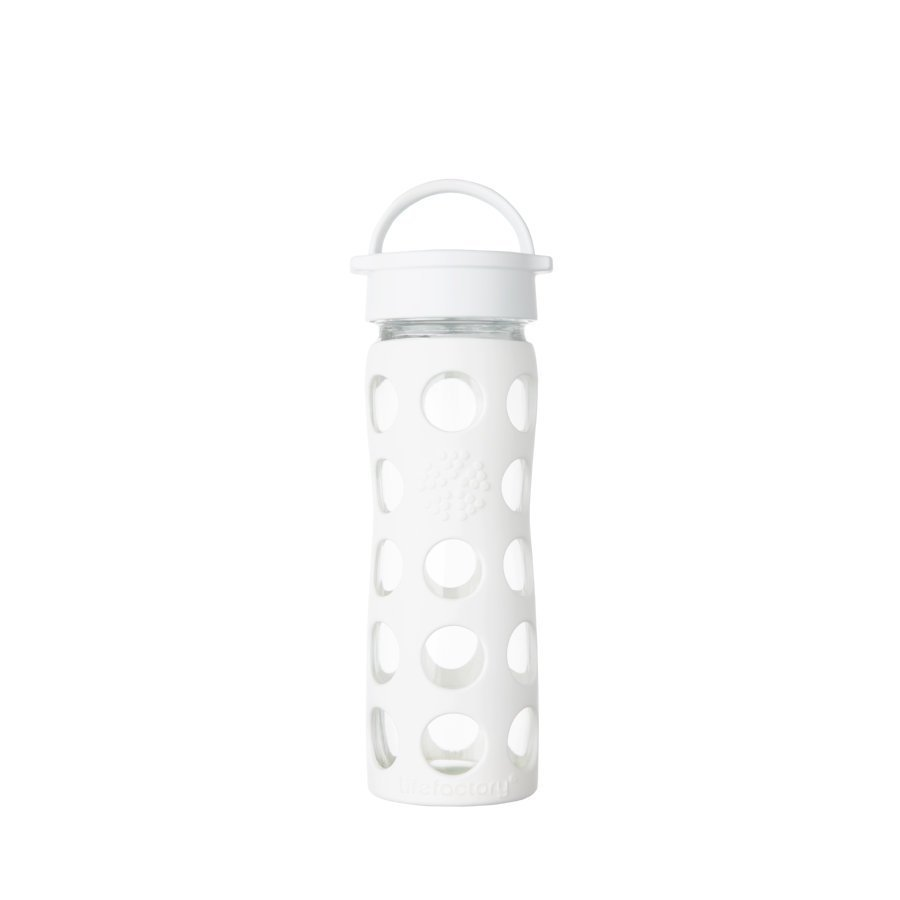 Lifefactory Juomapullo Classic Cap 475 Ml Optic White