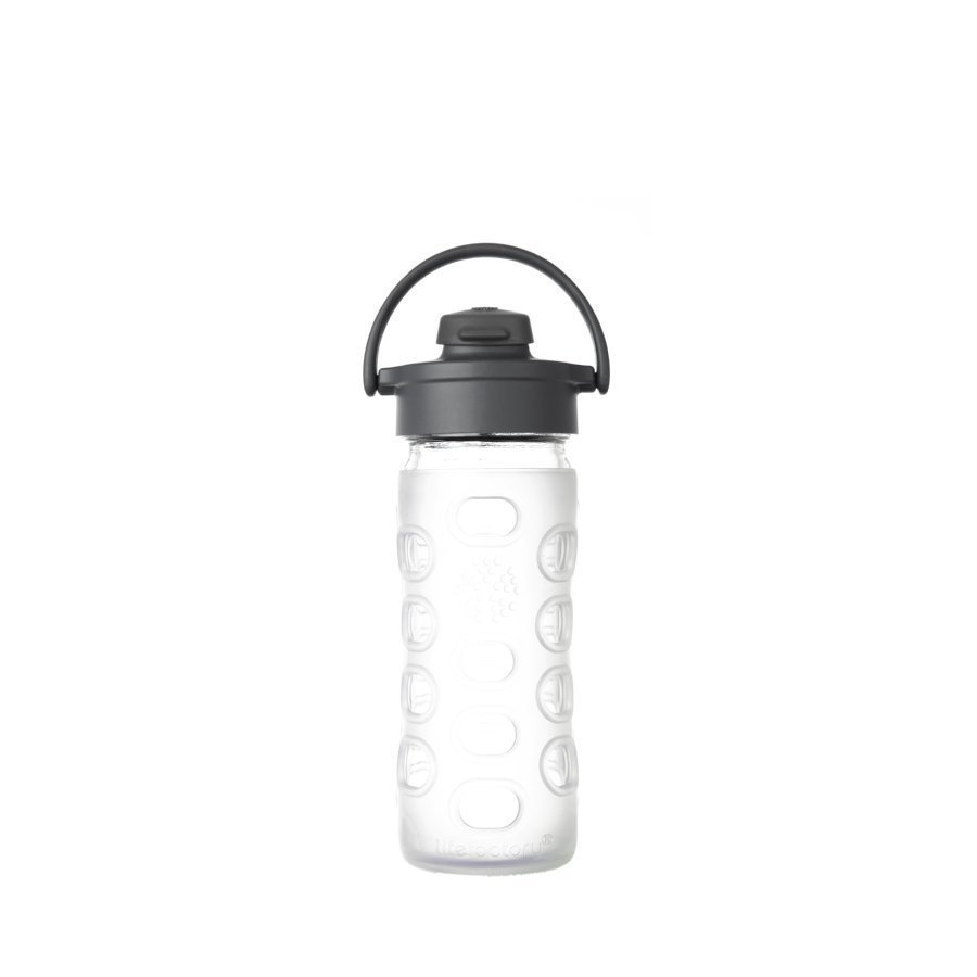 Lifefactory Juomapullo Flip Top Cap 350 Ml Transparent