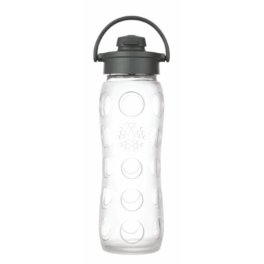 Lifefactory Juomapullo Flip Top Cap 650 Ml Transparent