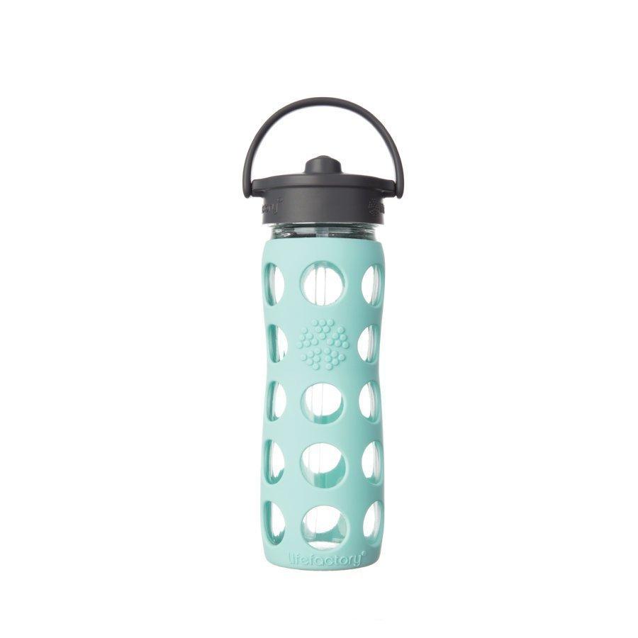 Lifefactory Juomapullo Straw Cap 475 Ml Turquoise