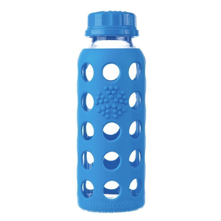 Lifefactory Lasinen Juomapullo 250 Ml Ocean