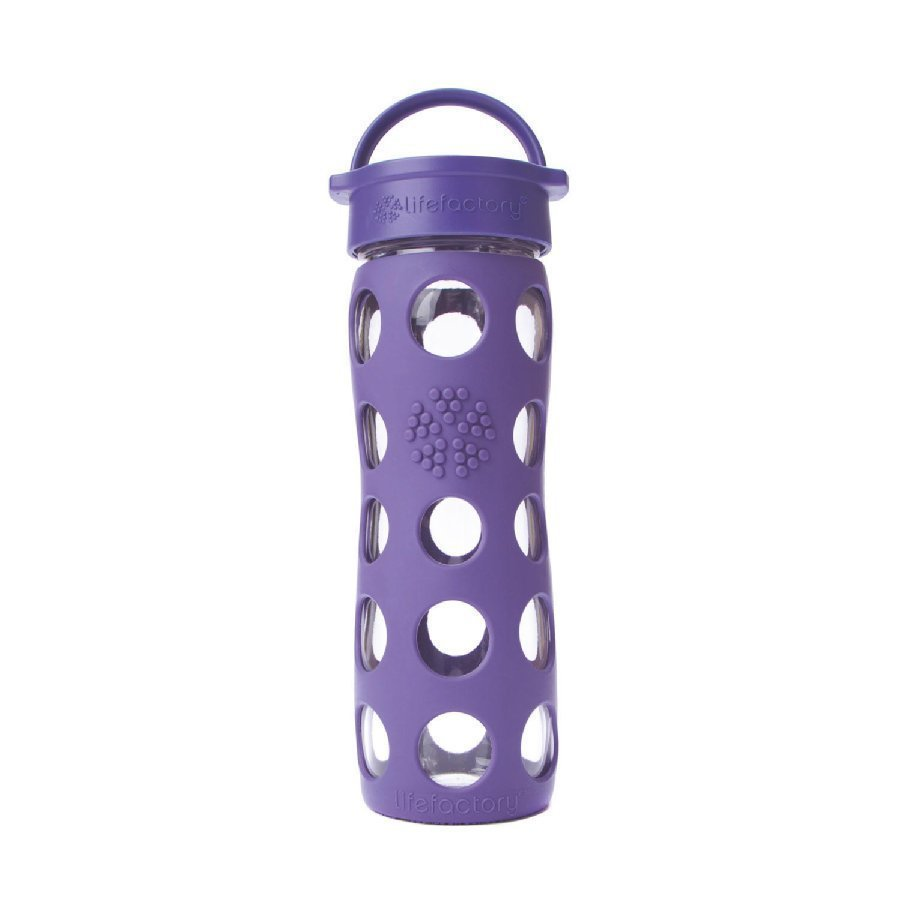 Lifefactory Lasinen Juomapullo 475 Ml Royal Purple