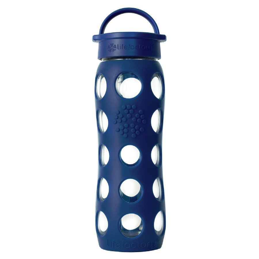 Lifefactory Lasinen Juomapullo 650 Ml Midnight Blue
