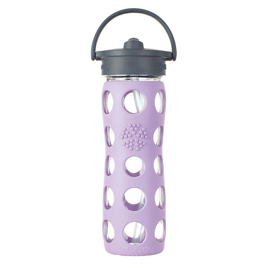 Lifefactory Lasinen Pillipullo 475 Ml Lilac