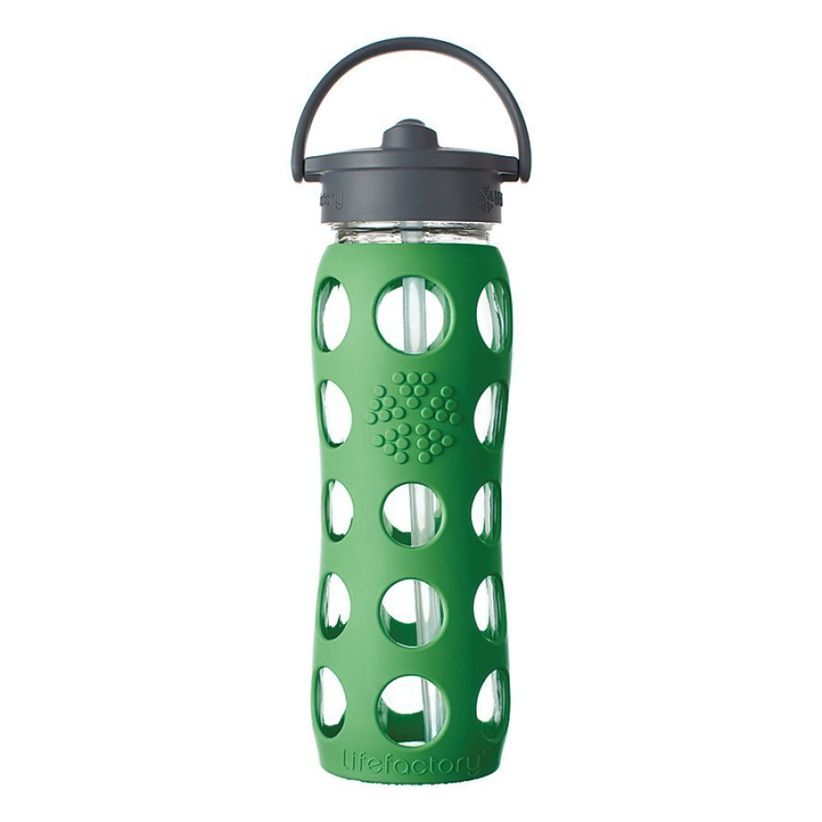 Lifefactory Lasinen Pillipullo 650 Ml Grass Green