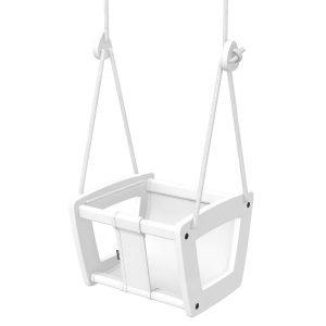 Lillagunga Toddler Keinu Valkoinen / Harmaa