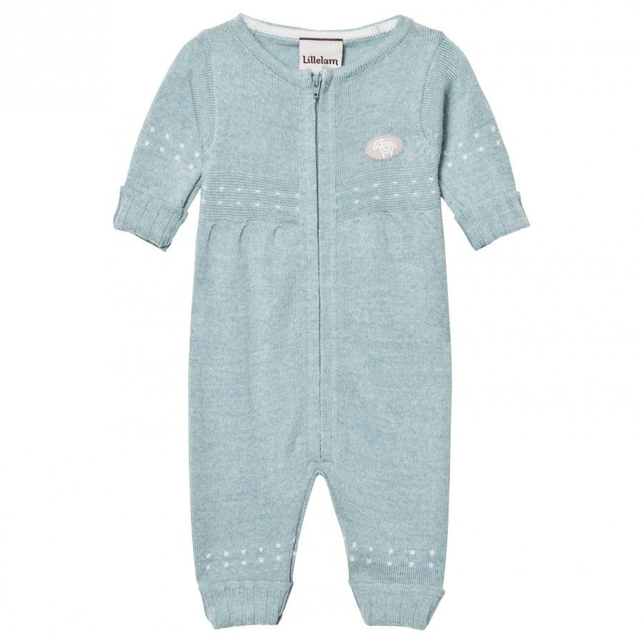 Lillelam Baby One-Piece Sea Green Body