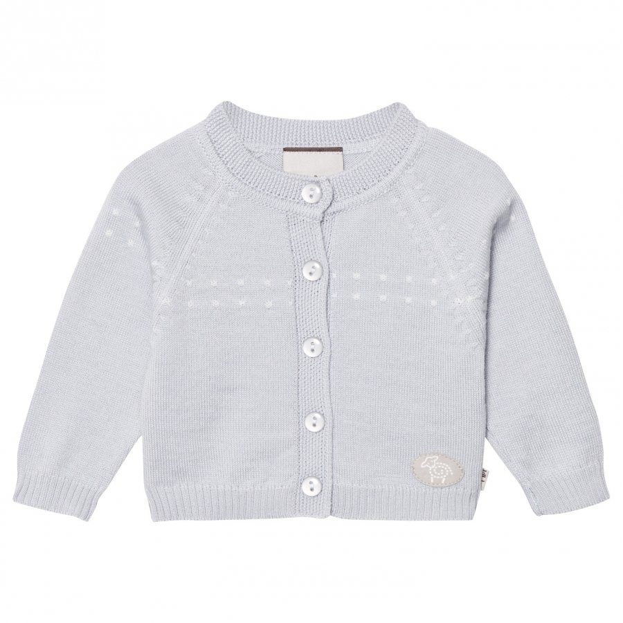 Lillelam Cardigan Light Blue Neuletakki