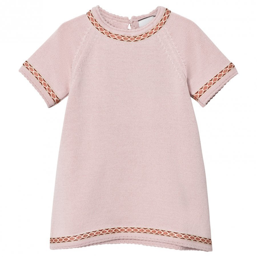 Lillelam Dress Embroidery Pink Mekko