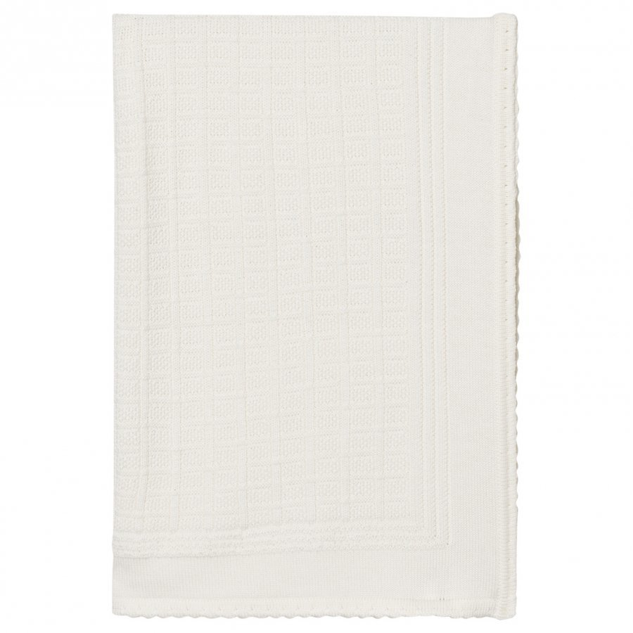 Lillelam Merino Wool Blanket Basic White Huopa