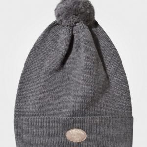 Lillelam Pompom Hat Grey Pipo