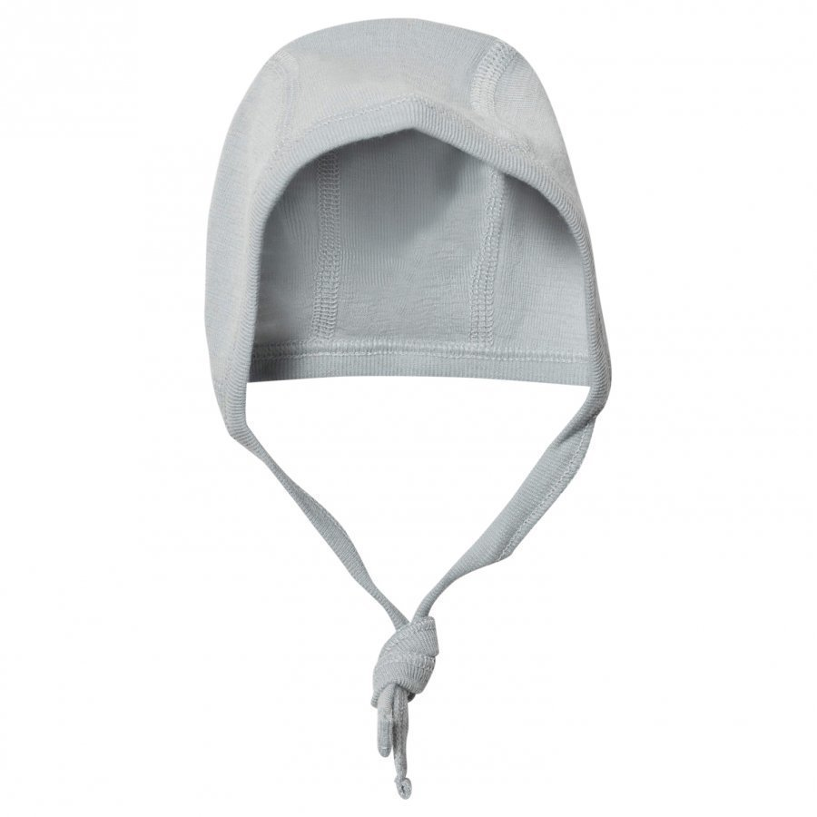 Lillelam Premature Hat With Tie Light Blue Pipo