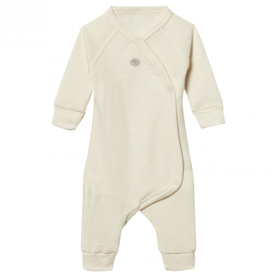 Lillelam Premature Wool Wrap One-Piece Off-White Body