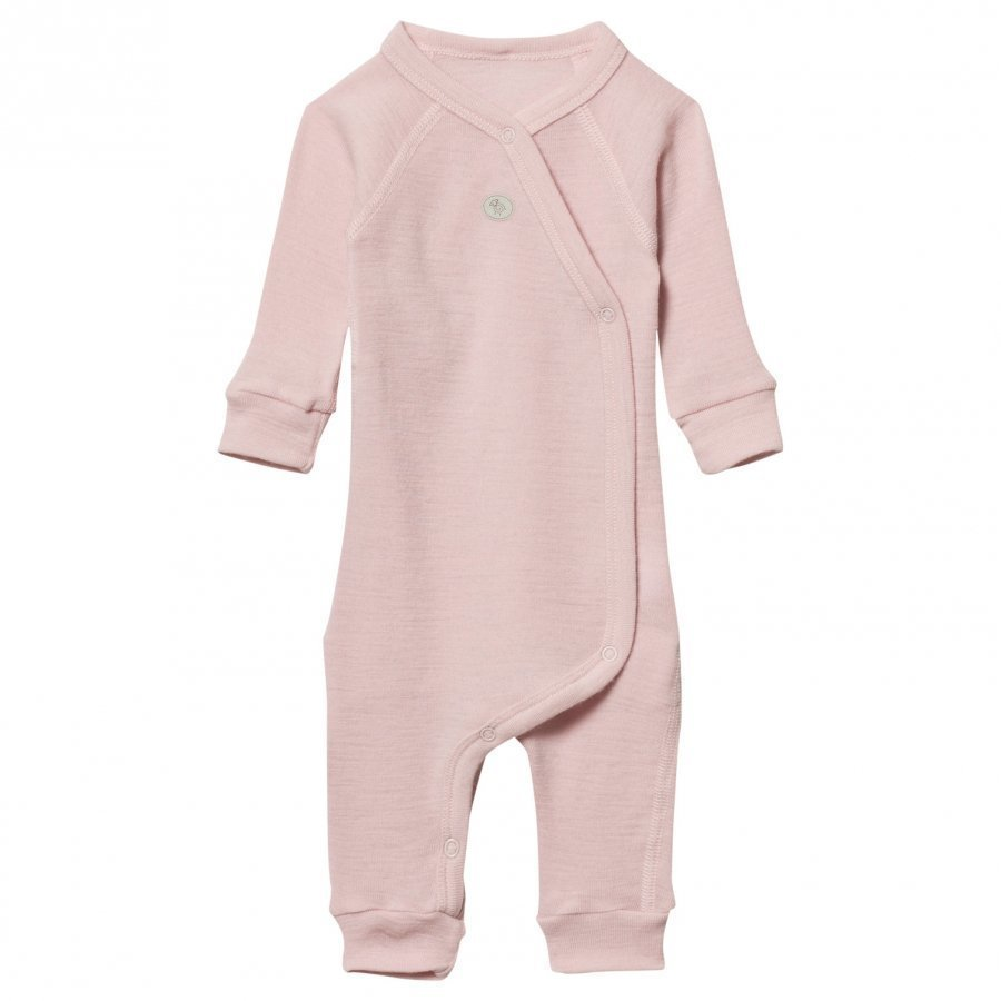 Lillelam Premature Wool Wrap One-Piece Pink Body