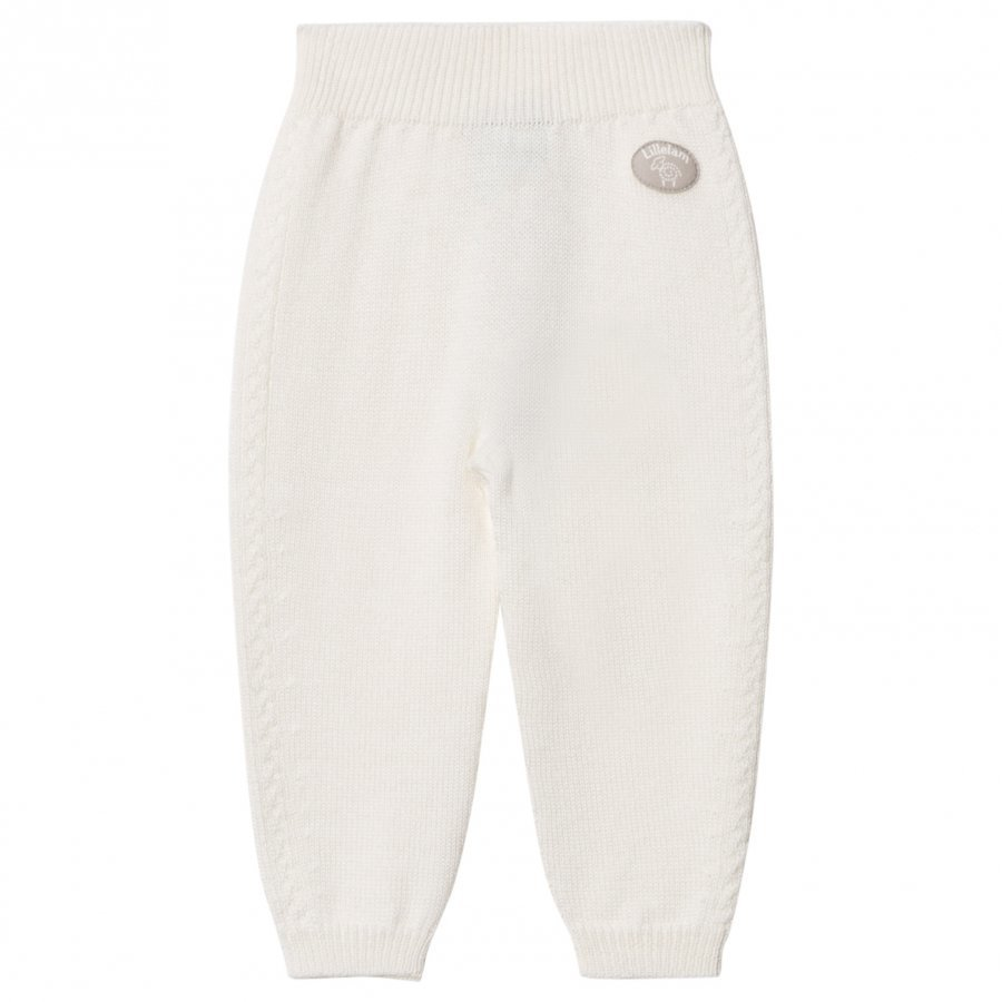 Lillelam Seamless Baby Pants White Housut