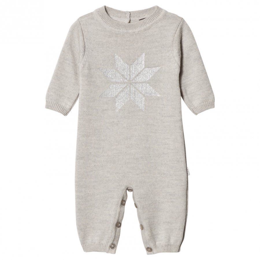 Lillelam Snow Crystal One-Piece Grey Potkupuku