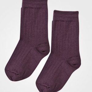Lillelam Two Pack Wool Socks Plum Sukat
