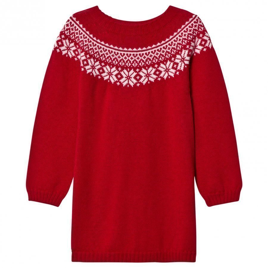 Lillelam Winter Dress Red Mekko