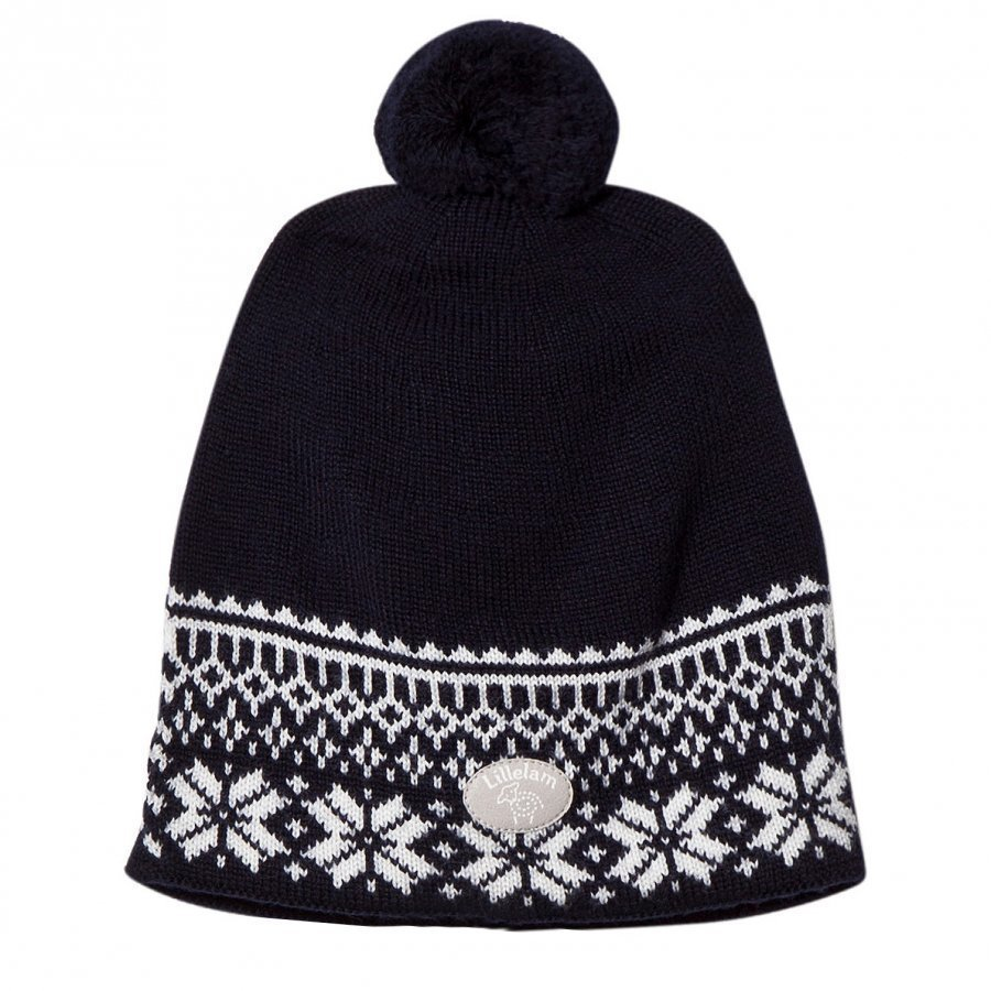 Lillelam Winter Dusk Hat Navy Pipo