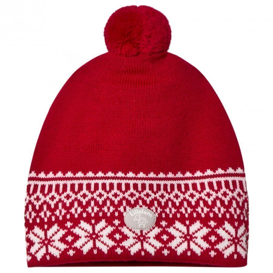 Lillelam Winter Dusk Hat Red Pipo