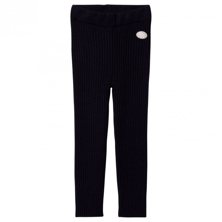 Lillelam Winter Rib Leggings Navy Housut