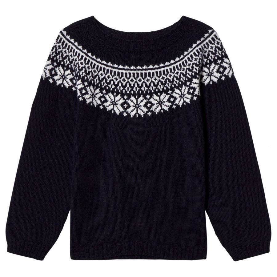 Lillelam Winter Sweater Navy Paita