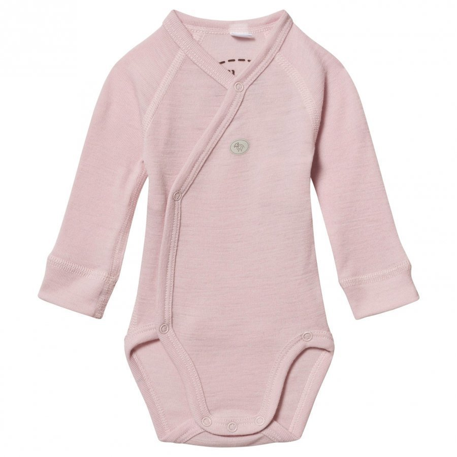 Lillelam Wool Wrap Baby Body Mini Pink Body