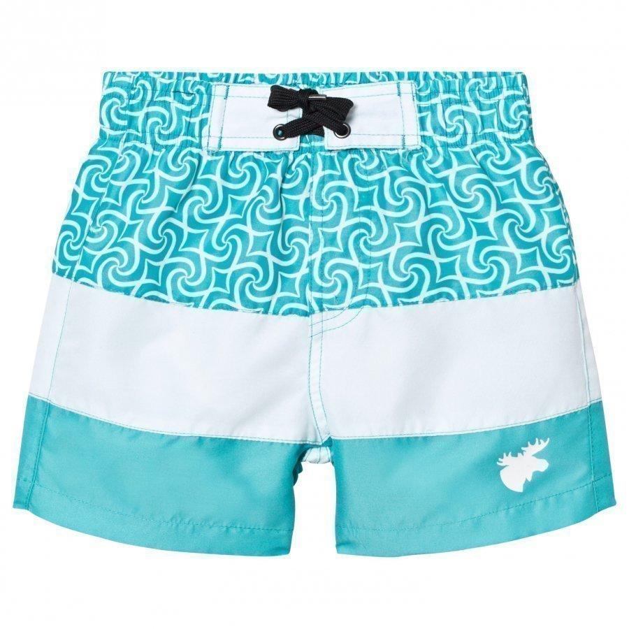 Lindberg Barbados Beach Shorts Turquoise Uimashortsit