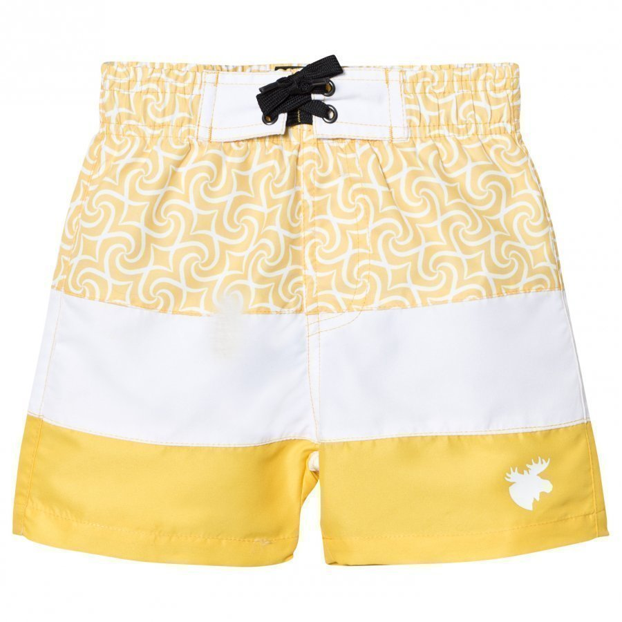 Lindberg Barbados Beach Shorts Yellow Uimashortsit