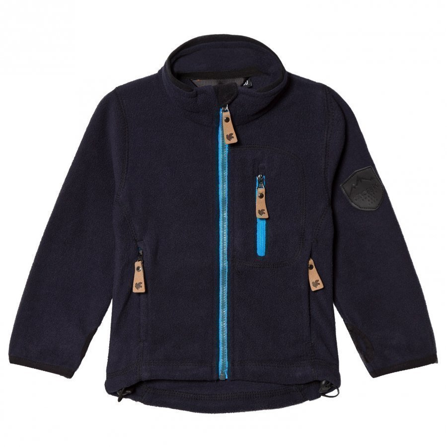 Lindberg Bolton Fleece Jacket Carbon Blue Fleece Takki