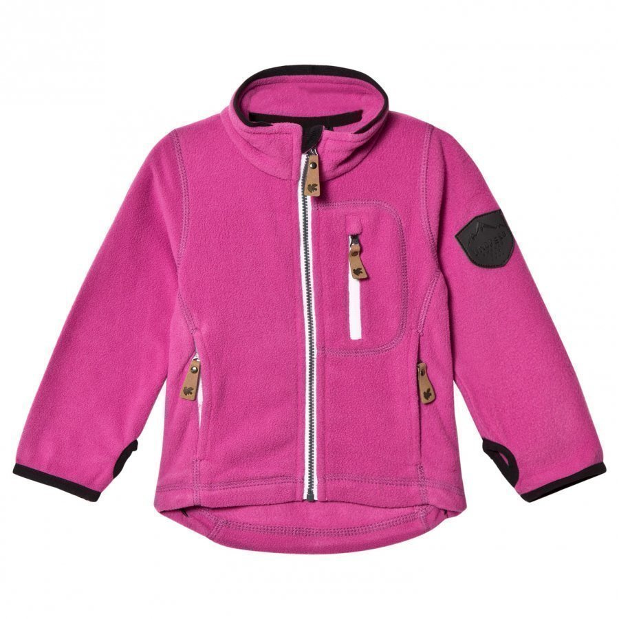 Lindberg Bolton Fleece Jacket Cerise Fleece Takki