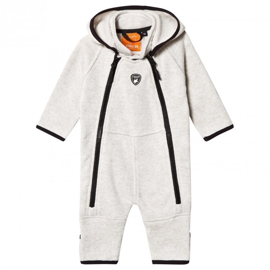 Lindberg Bormio Baby Overall Beige Fleece Haalarit