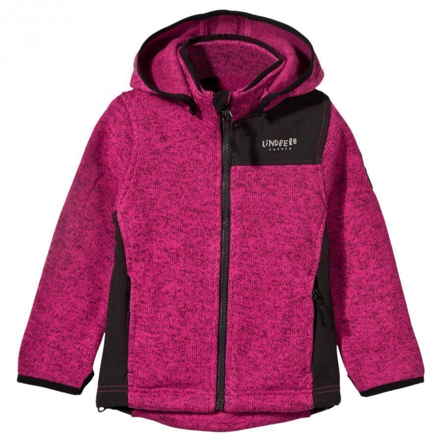 Lindberg Bormio Jacket Pink Fleece Huppari