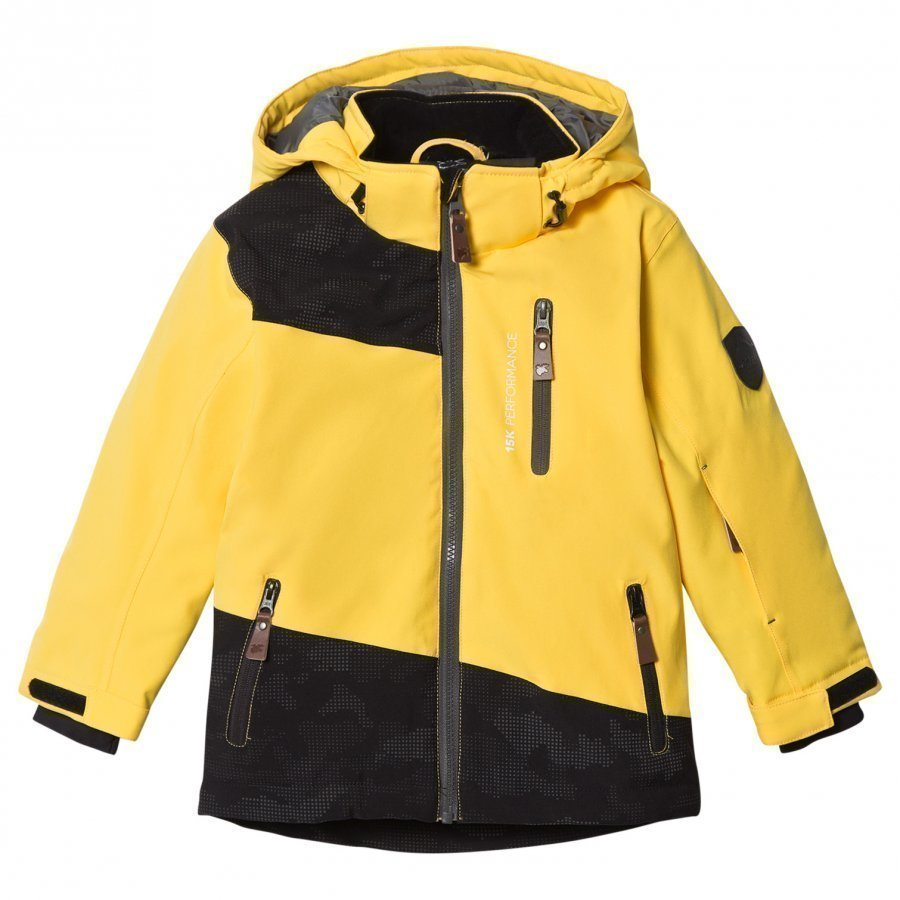 Lindberg Brighton Jacket Yellow Toppatakki