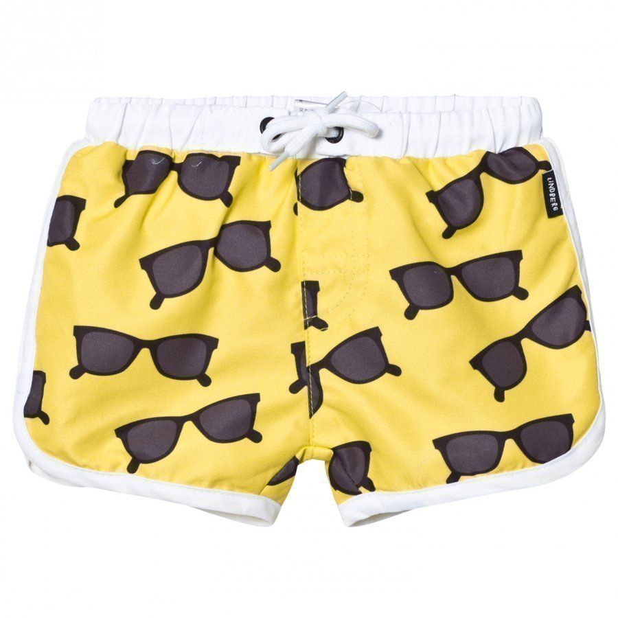 Lindberg Ellis Swim Diaper Shorts Yellow Uimavaippa