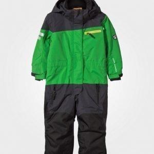 Lindberg Fernie Snowsuit Green Toppahaalari