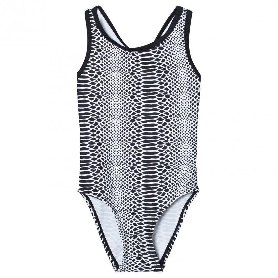 Lindberg Hedda Swimsuit Black/White Uimapuku