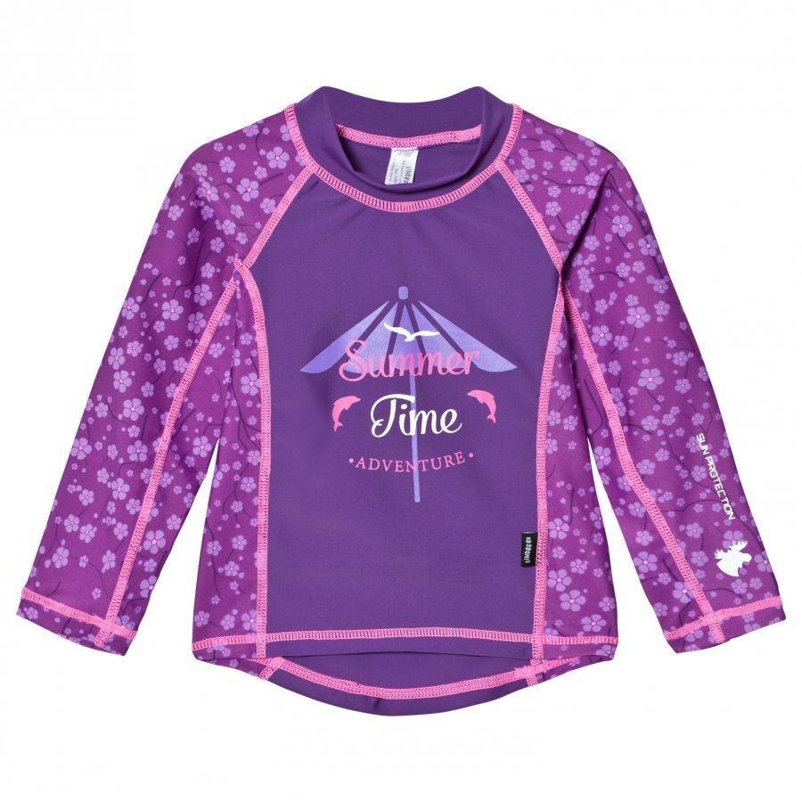 Lindberg Hero Shirt Lilac Aurinkopuku