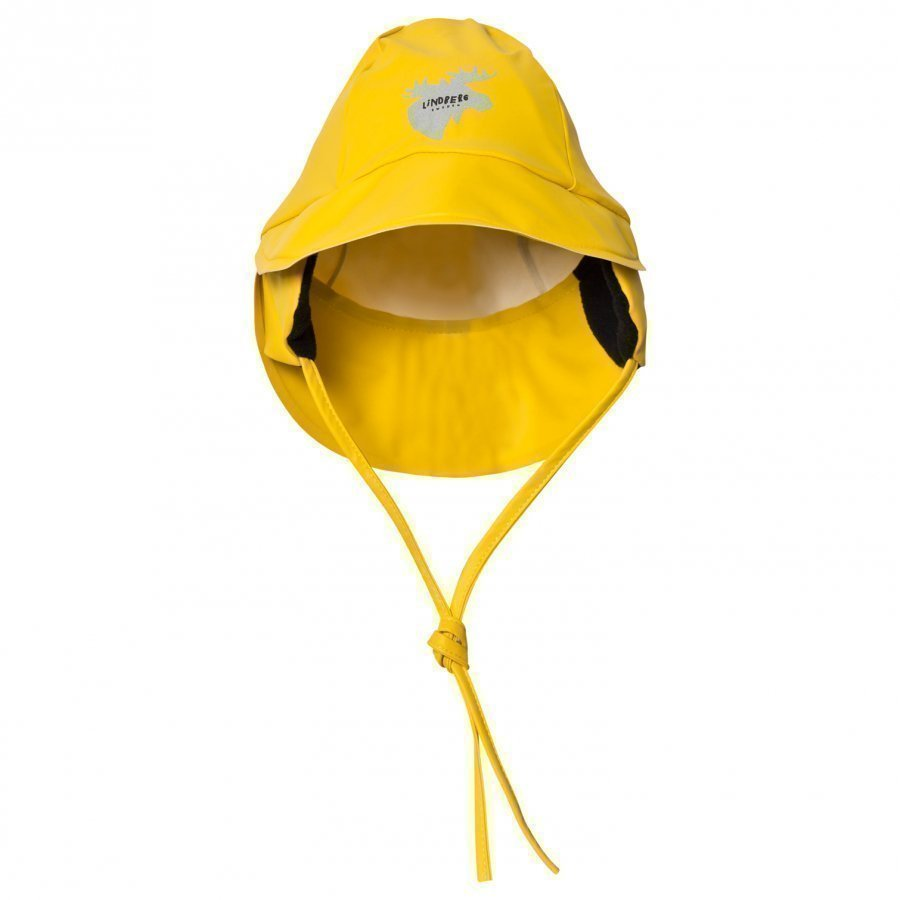 Lindberg Hjuvik Rain Hat Yellow Sadehattu