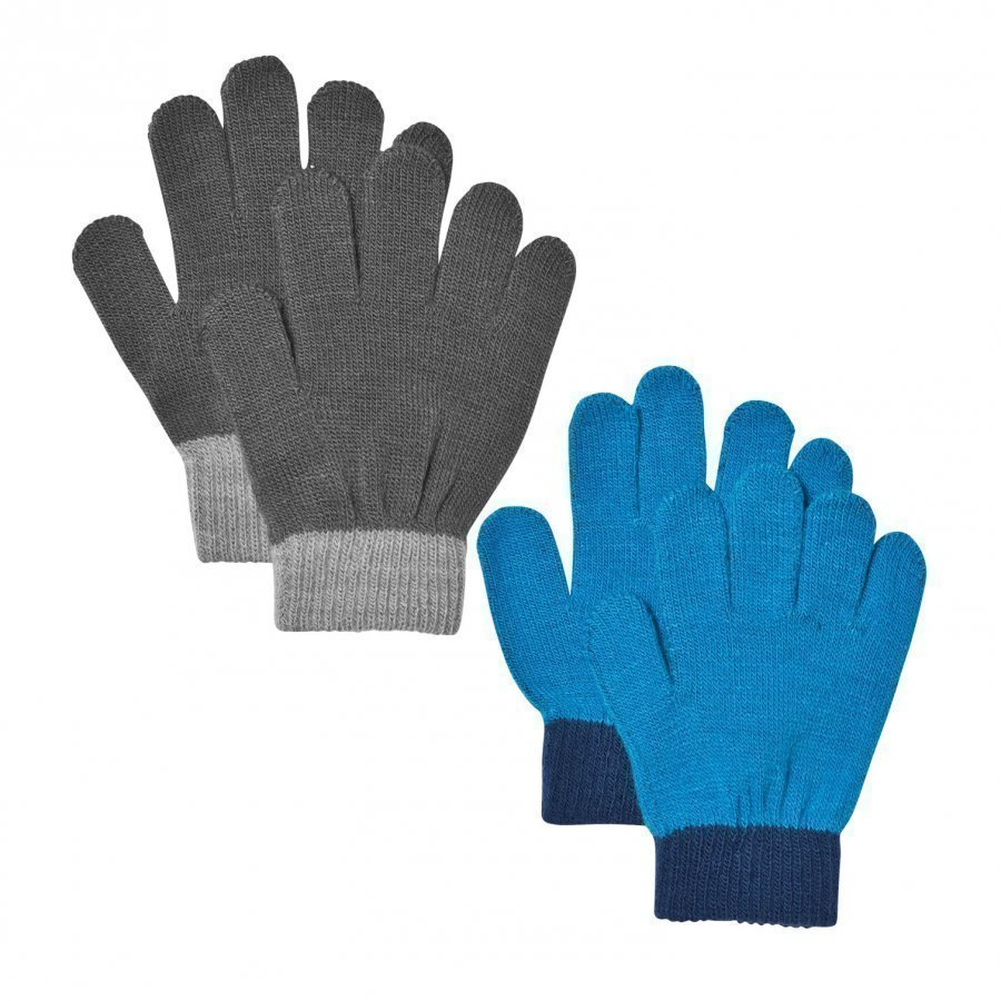 Lindberg Lanna Magic Gloves Black And Blue Villahanskat