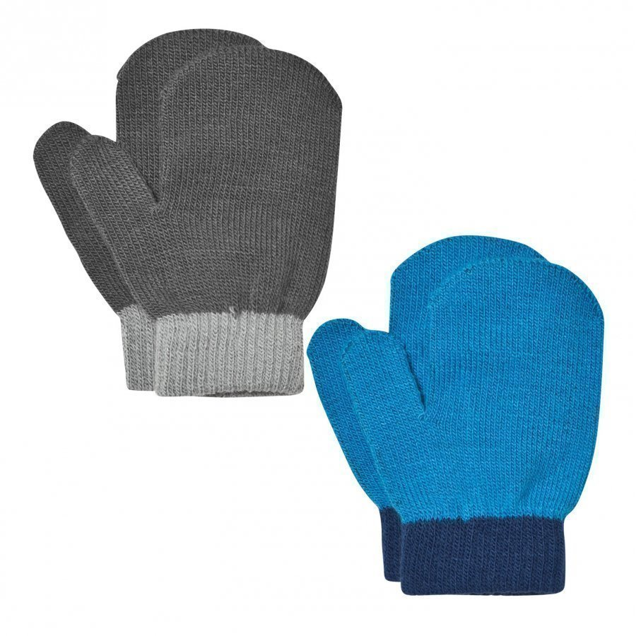 Lindberg Lanna Magic Mittens Black And Blue Villalapaset