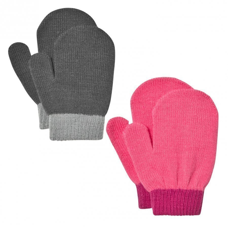 Lindberg Lanna Magic Mittens Black And Cerise Villalapaset