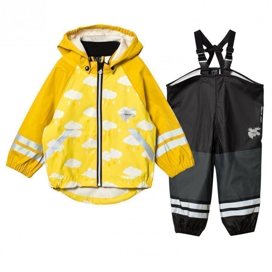 Lindberg Lersten Rain Set Yellow Sadesetti