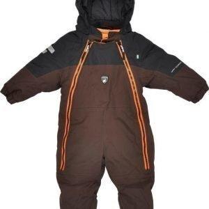 Lindberg Overall Baby Davos Brown/Black