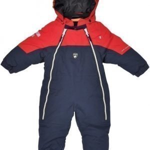Lindberg Overall Baby Davos Navy/Red
